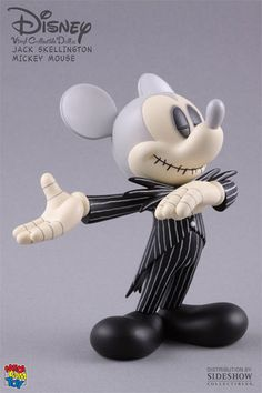 I tried so hard at Disney Land to get this Mickey Skellington. You buy the Mickey and don't know which character you'll get, I didn't get lucky enough. So cute!