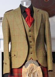 Bespoke Islay Tweed Jacket & Waistcoat