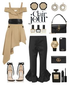 """""""Unbenannt #877"""" by fashionlandscape ❤ liked on Polyvore featuring Monse, Isabel Marant, Goen.J, Manolo Blahnik, J.W. Anderson, Larsson & Jennings, Kate Spade, Gucci, Chanel and NARS Cosmetics"""