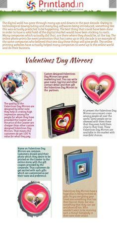 Valentine Day Photo Frame, Valentines Day, Mirrors Online, Online Print Shop, Kolkata, Design Templates, Pune, Chennai, Custom Photo
