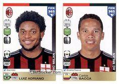 Luiz Adriano - Carlos Bacca (AC Milan)