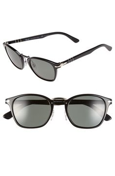 03ac5704b2 Free shipping and returns on Persol 51mm Polarized Retro Sunglasses at  Nordstrom.com. Signature