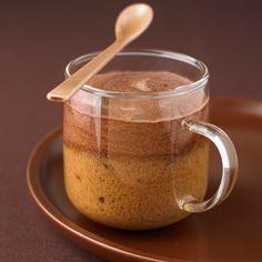 Découvrez la recette mousse chocolat café sur cuisineactuelle.fr.