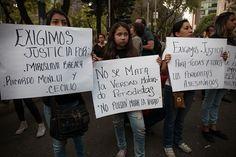 La tarde de este sábado se realizó una marcha en la #CDMX por el asesinato de la periodista Miroslava Breach, corresponsal de La Jornada en Chihuahua Foto: © César Martínez López