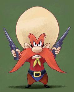 Animated Cartoon Characters, Looney Tunes Characters, Looney Tunes Cartoons, Classic Cartoon Characters, Classic Cartoons, Cartoon Tv, Disney Characters, Yosemite Sam, Looney Tunes Wallpaper