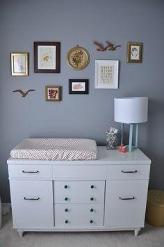 Eva's Sweet & Feminine Nursery — My Room (Apartment Therapy Main) Girl Nursery, Nursery Ideas, Beautiful Space, Decoration, My Room, Apartment Therapy, Pink Girl, Diy Projects, Grey Nurseries