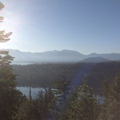 Lake Tahoe early morning from Sunnyside
