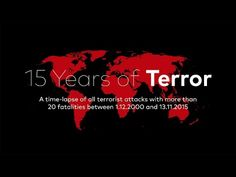Time lapse map of major terror attacks in the last 15 years and why we shouldn't be afraid. https://redd.it/3uelc2