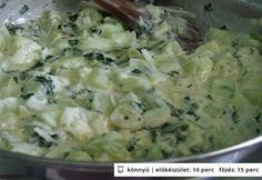 Egyszerű cukkinimártás Quiche, Potato Salad, Cabbage, Bbq, Paleo, Potatoes, Vegetables, Ethnic Recipes, Food