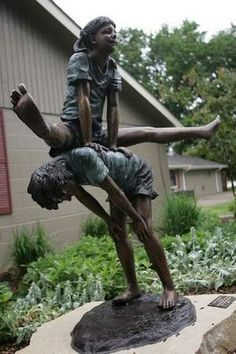 Awesome Urbandale Unveils Leap Frog Bronze Statue At Celebration In Lions Park |  The Randolph Rose Collection