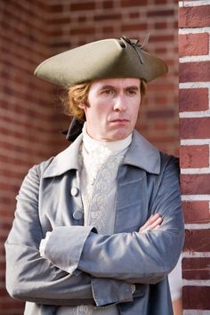 "Stephen Dillane as an exceptionally hot-looking Thomas Jefferson in the PBS ""John Adams"" series"