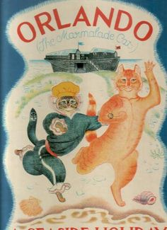 """""""Orlando (The Marmalade Cat): A Seaside Holiday"""" written and illustrated by Kathleen Hale"""