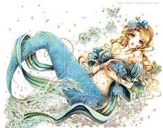 anime mermaid | Tumblr
