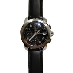 Beckers Jewelry Corp - Baume & Mercier Chronograph, Black Dial