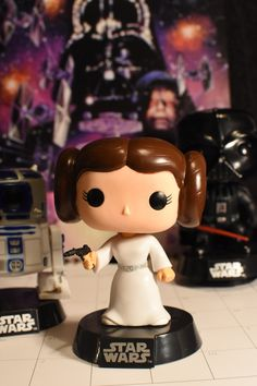 https://flic.kr/p/Qkerq9 | Star Wars Pop Vinyl Figure | The first Funko Pop Photo-A-Day photo. RIP Carrie Fisher. As Princess Leia you were the first strong female character that I remember seeing on the big screen as a child. You have inspired millions over the decades and you will be missed. Instagram @fifilele