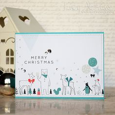 Christmas Scene by Lucy Abrams