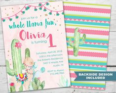 Charismatic The Lama's Very First Birthday Invitation To Lama's Birthday Invitation To Lama's Birthday, To Invite Lama's Birthday First Birthday Party Themes, First Birthday Invitations, Girl First Birthday, Birthday Diy, Birthday Ideas, Invitations Kids, 10th Birthday, Llama Birthday, Baby Shower Invitaciones