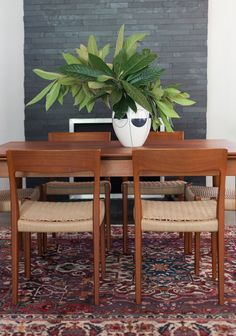 Mid Century Dining   Sarah Stacey Interior Design