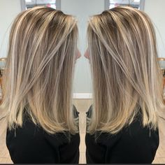 Brown Hair With Blonde Highlights, Balayage Hair Blonde, Hair Highlights, Boliage Hair, Low Lights Hair, Blonde Hair Looks, Hair Shades, Shoulder Length Hair, Great Hair