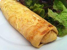 Mincir avec thermomix - Spécial régime DUKAN : Crepes jambon / fromage