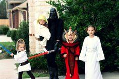 Family Star Wars Halloween costume