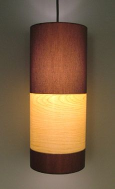 Wood Veneer Pendant Light...why is all the cool stuff so expensive?!