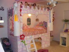 Unique Girls Bedroom Castle Bed Ideas - Home Interior Decor - 14073