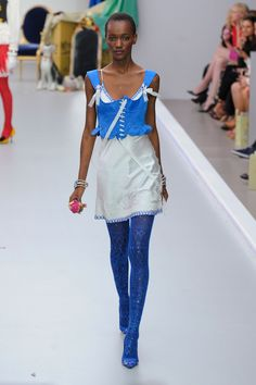 Meadham Kirchhoff at London Fashion Week Spring 2013 - StyleBistro