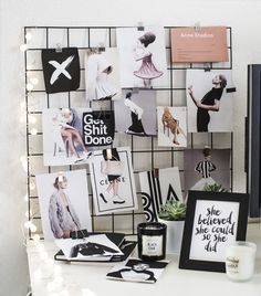 Interior Design | Iron Mesh Moodboard DIY