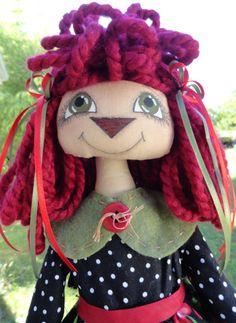 Annie Ruth Ann doll pattern  212 ET. $10.00, via Etsy.