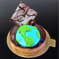 Celebrating Earth Day on a Le Parfait Chocolate Tart