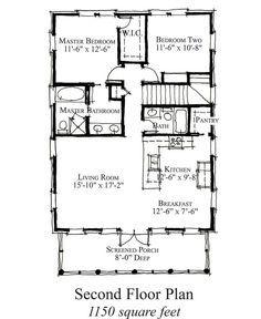 Floor plan for a 28 x 36 cape cod house