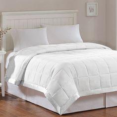 Madison Park Solid 3M Down-Alternative Blanket, White