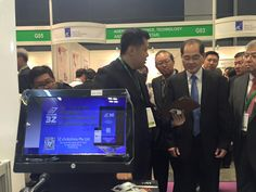 We have the greatest honour to be visited by SME XPO 2015, Guest Of Honour, Mr Lim Hng Kiang, Minister for Trade and Industry.#POS