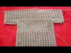 Yine son günlerde çok aranan bir örnek olan görücüye çıkan hanım kız yelek modelinin ayrıntılı yapılışı ile sizlerleyiz. Alt kısmına ve ön roba kısmına lastik örneği yapılmayan, kolay yelek modeli. Yapılışında Angora yün ip ve önler için 68 ilmek, arka içinde 102 ilmek atılarak 3 numara şişe başlanıyor. Arka kısmına Knitting Videos, Easy Knitting, Knitting Sweaters, Baby Knitting Patterns, Knitting Stitches, Hand Embroidery Videos, Sports Vest, Needle Tatting, Learn How To Knit