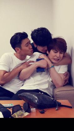 I'm Kyu when my coworkers try to hug me or anything.