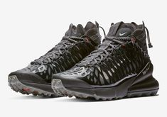 reputable site 4637e 2ce32 Nike ISPA Air Max 270 SP SOE First Look sneakers black white grey orange  swoosh