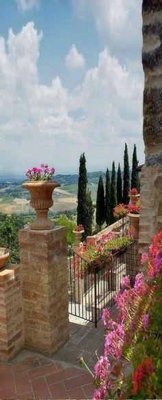 "luxelegantopulence: "" Montefollonico ~ Tuscany, Italy "" ♡♡♡"