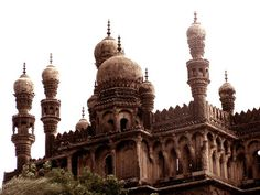 Toli Masjid of Hyderabad - India by chashm-deed, via Flickr