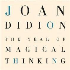 The Year of Magical Thinking audiobook cover art