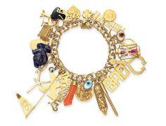 Elizabeth Taylor's Charm Bracelet