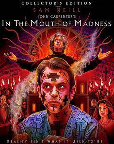IN THE MOUTH OF MADNESS COLLECTOR'S EDITION BLU-RAY SLIPCOVER (SCREAM FACTORY)