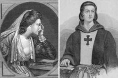 In 1117 Peter Abelard was castrated in retaliation for his affair with Heloise. Abelard's affair with the teenaged Heloise is celebrated as one of the great love stories of the Middle Ages, but the girl's uncle & guardian didn't see it that way. After he discovered his niece was with child, Canon Fulbert sent some goons to castrate Abelard. After the mutilation, the theologian-philosopher began a monastic life. He was considered to be the greatest scholar of his time