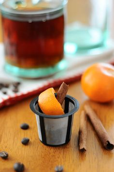 Genius, Right? 25 Amazing Clementine Ideas - Add Peel and Cinnamon to your Keurig or Coffee Filter