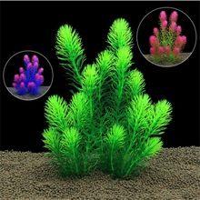 US $5.09 26cm Underwater Artificial Aquatic Plant Ornaments Aquarium Fish Tank Green Chrysanthemum Water Grass Decor Landscape Decoration. Aliexpress product