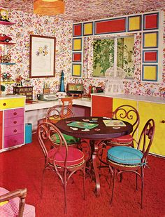 Kitschy Living Room Interior Design For Small And Kitchen 101 Best The Furniture That Time Forgot Or At Least Should Images