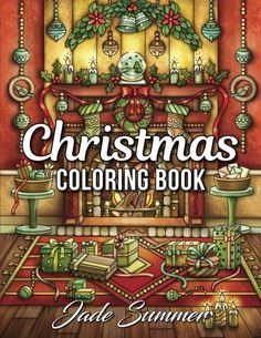 Christmas Coloring Book : An Adult Coloring Book with Fun, Easy, and Relaxing Coloring Pages (Perfect Gift for Christmas Lovers) by Jade Summer Paperback, Large Type) for sale online Summer Christmas, Christmas Books, Christmas Ideas, Christmas Inspiration, Free Printable Coloring Pages, Coloring Pages For Kids, Relaxing Colors, Coloring Book Art, Holiday Mood
