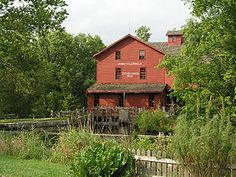 Bonneyville Mill and Park, Bristol, IN -- about 15 or 20 miles from where I'm from in Elkhart