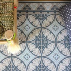 Tapis carreaux de ciment Beija Flor Barcelona T2