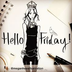 Hello Friday gorgeousness - quote & illustration reposted from @meganhessillustration on Instagram. Find more love and wedding inspiration #fromthomas – on Pinterest and http://instagram.com/thomasjewellers/ #thomasjewellers #ilovethomas